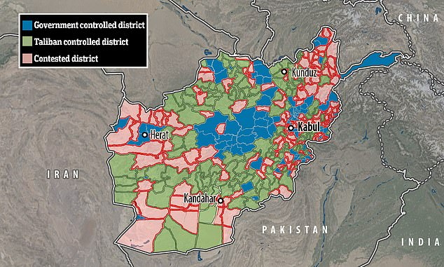 It comes as the militant group continues a sweeping offensive across Afghanistan following the US drawdown ahead of a complete withdrawal by August 31