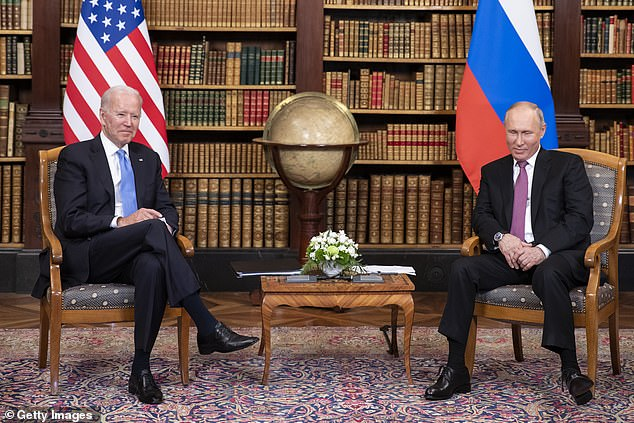 Biden and Putin held bilateral talks in Geneva on June 16 where the U.S. president said he gave his counterpart a list of 16 critical infrastructure entities that are 'off limits', including IT, which was targeted by the REvil hack