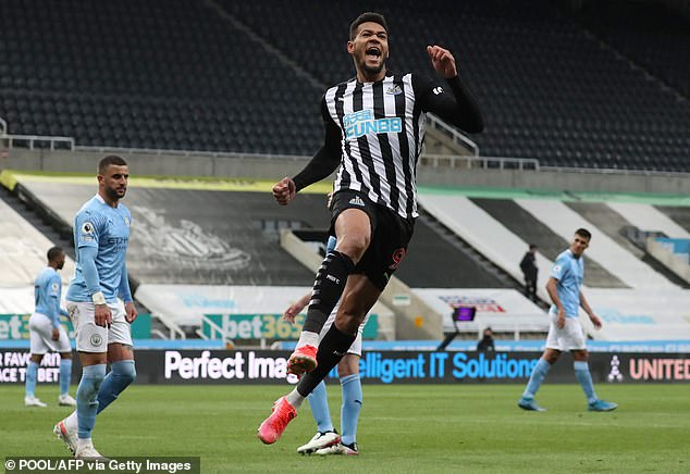 Joelinton showed signs of adapting to the Premier League late on during the 2020-21 season