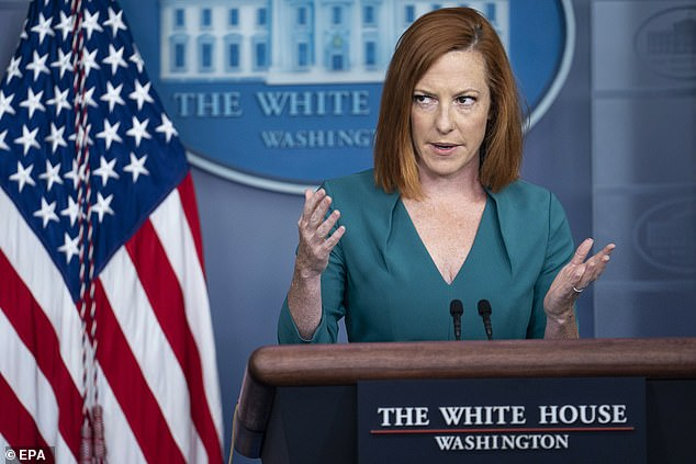 White House Press Secretary Jen Psaki said Tuesday: 'If the Russian government cannot, or will not take action against criminal actors residing in Russia, we will take action' in response to cyberattacks