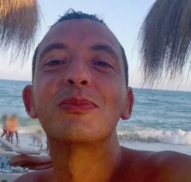 The shooting comes amid the prosecution ofRidouan Taghi (pictured), an alleged Mafia boss, with de Vries acting as a 'confidential counsellor' to star state witness Nabil B