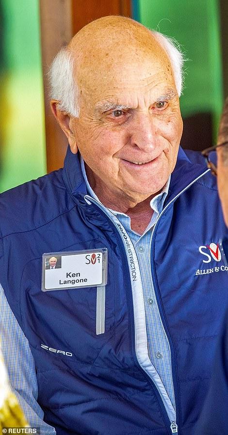 Ken Langone, anAmerican billionaire businessman, investor and philanthropist