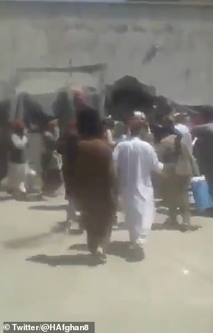 Taliban fighters release prisoners from Qala-i-Naw jail