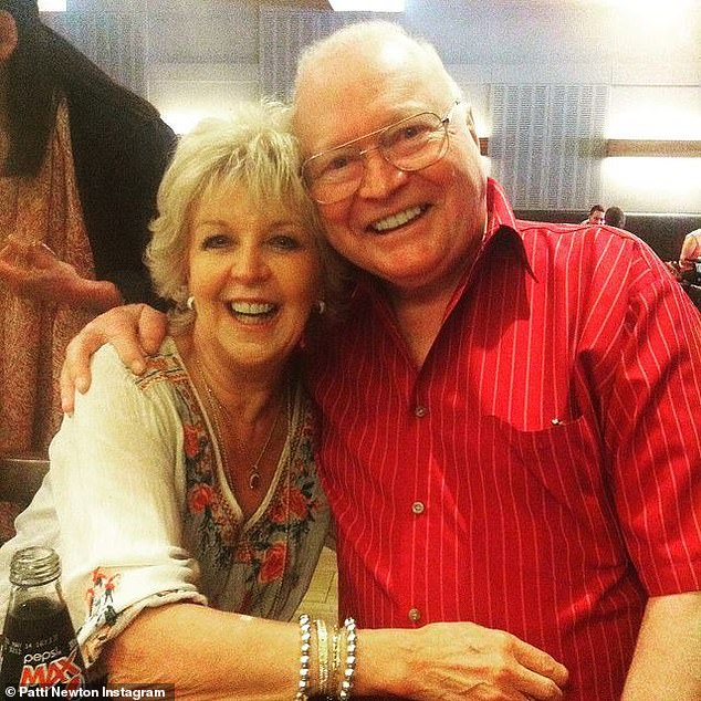 Separated:'Bert is still in hospital, it's a very long hard journey,' Patti told The Herald Sun.'Lots of ups and downs, but he has a great attitude and still smiling, we are taking every day as a plus'