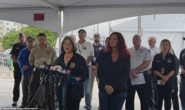 Levine Cava said Wednesday evening that the death toll from the deadly condo collapse in Surfside on June 24 had risen to 54, with 86 still unaccounted for as she announced that operations at the site of the collapse would transition from rescue to recovery