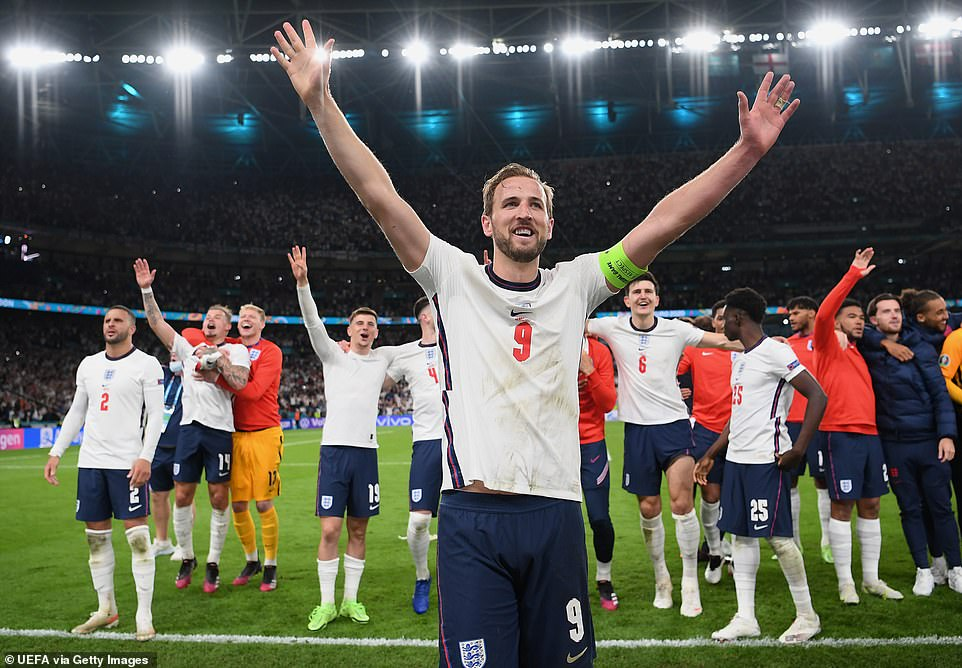 England are one game from glory, as they now face a final with Italy at Wembley on Sunday after beating Denmark 2-1 last night