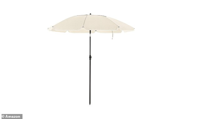 Add some extra shade to your garden with this bestselling parasol. All you need now is SPF and a captivating novel