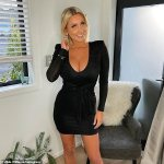 Former Bachelor star Zilda Williams flaunts her double E-cup cleavage 💥👩💥