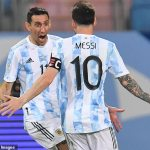 Copa America: Angel Di Maria reveals Lionel Messi THANKED him for ending international trophy wait 💥👩💥