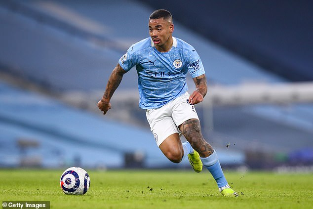 Juventus are reportedly interested in signing Manchester City striker Gabriel Jesus