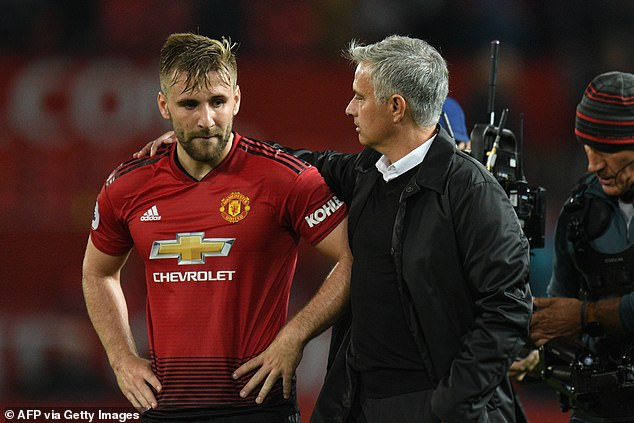 The defender has a chequered past with Mourinho and was regularly targeted by him