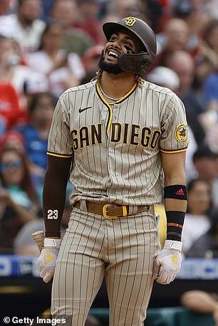 San Diego Padres shortstop Fernando Tatis Jr