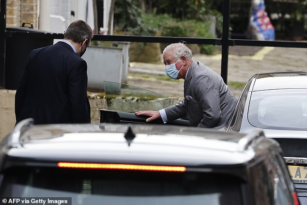The Prince was said to have personally hosted Mr Musk and his fiancée over several days at Dumfries House
