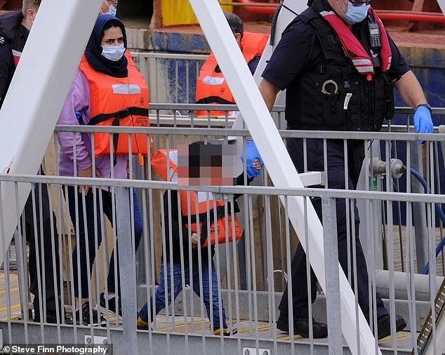 The Home Office is yet to confirm exactly how many arrived on Sunday or how many have made the 21-mile crossing today