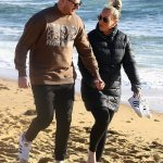 MAFS' Bryce Ruthven and Melissa Rawson take a romantic walk on the beach after announcing pregnancy 💥👩💥
