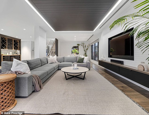 No expense spared: Selling agent Marc Keswell of Amir Prestige explained that the sale of the race car driver's mansion is the highest sale price of a property on the Isle of Capri this year