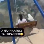 Two women almost plunge 6,300ft after swing over cliff edge breaks in Russia 💥👩💥