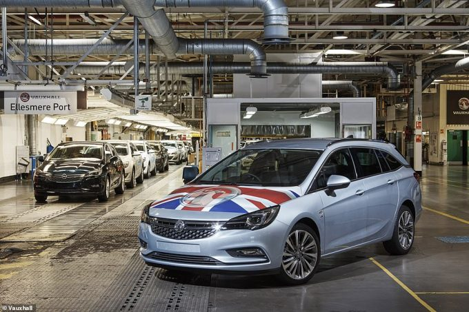 All seven-generations of the Astra - and the estate, or Sports Tourer, model - have been made at the UK plant
