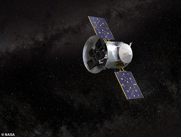 In their study, the researchers detected the metallic star in data from NASA's Transiting Exoplanet Survey Satellite, or 'TESS' for short. An artist's impression of TESS is pictured