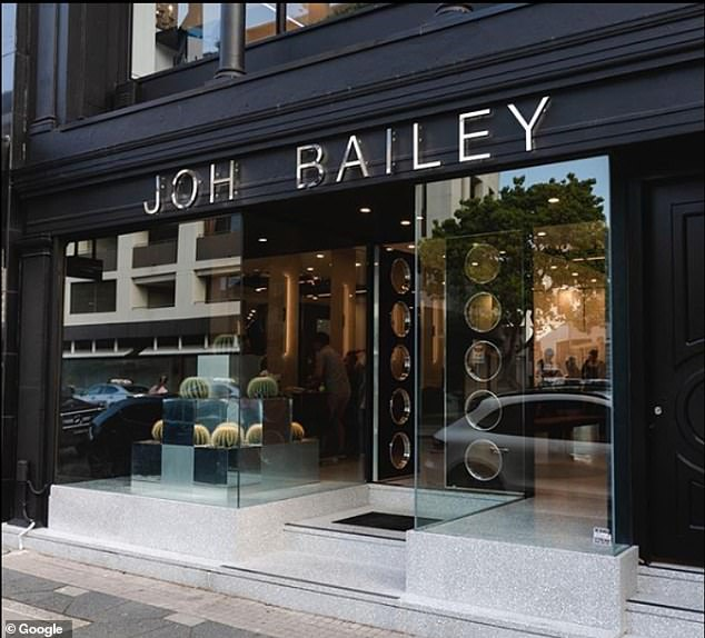 Joh Bailey hair salon (pictured), in Double Bay, was one of the major transmission hotspots shortly after Sydney's Covid outbreak began on June 16