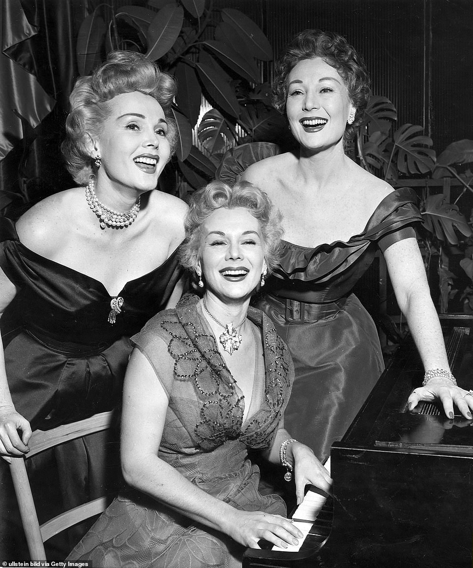 Sisters Eva (center), Zsa Zsa (left) and Magda Gabor accumulated 19 husbands, hundreds of lovers and even a lady love between the three