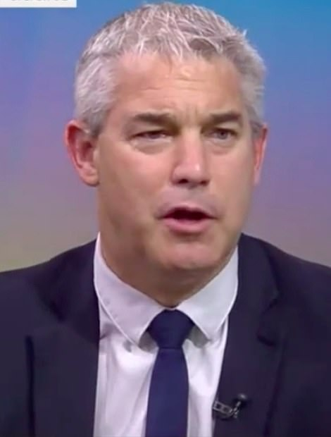 Chief Secretary to the Treasury Steve Barclay today said 'no one knows' how effective vaccines will be in the winter, meaning some measure could be put back in place