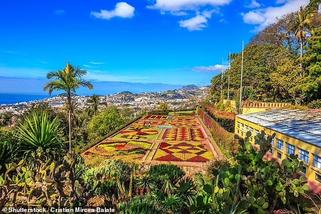 Holiday: Funchal is the largest city in Madeira and isknown for its harbour and gardens
