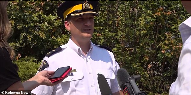 Royal Canadian Mounted Police Inspector Adam MacIntosh said the area remains unsafe