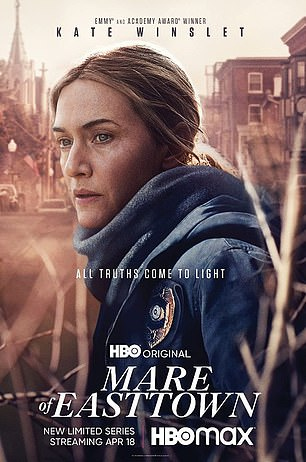 Esteemed stars: Kate Winslet is up for Mare Of Easttown