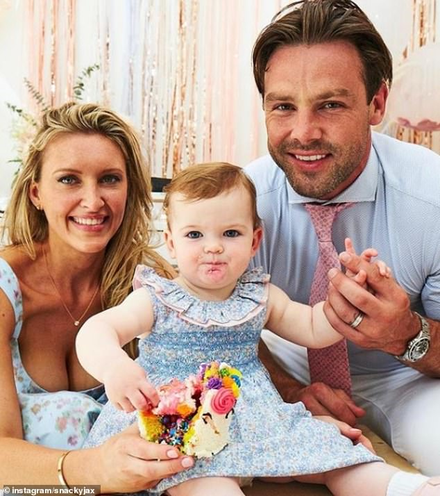 Family: She's married to English rugby player Ben Foden, 35, and they share a 14-month-old daughter Farrah. Ben also has Aoife, nine, and Tadhg, six ¿ with Irish singer Una Healy