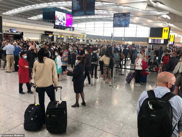 Heathrow is expecting a surge in travellers as restrictions are loosened on 'Freedom Day' next week
