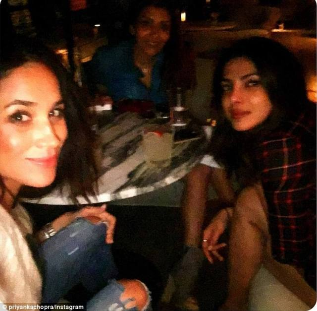 Priyanka was a guest at her wedding to Prince Harry in May 2018, however Meghan didn't attend her wedding to Nick Jonas that December and Priyanka was subsequently absent from Meghan's baby shower, prompting rumours of a feud. Priyanka however laughed off these claims, insisting it was simply 'not true'