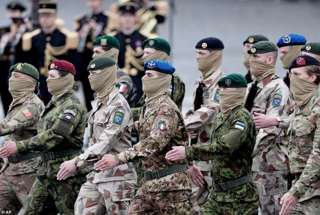 Soldiers from the European Task force Takuba march during the annual Bastille Day parade. Roughly 80 French and European special forces drawn from the multinational Takuba force in the Sahel led the procession on foot, a choice intended to send a diplomatic message from Paris