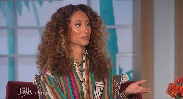 Welteroth also slammed the 'narratives' framing her and Underwood as 'co-conspirators and attacking someone' as 'false and unfair'