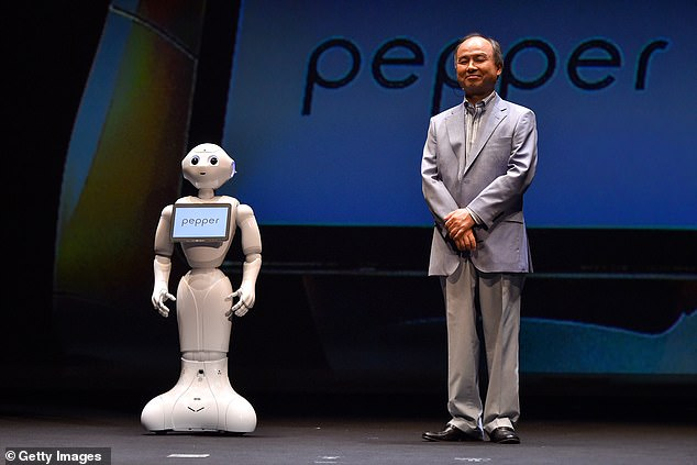 Costly: Only 27,000 units were ever made, in part due to its $1,790 price tag, and Japanese firm SoftBank has said it will only start making the 4ft, 62lb robot again 'when it is needed'