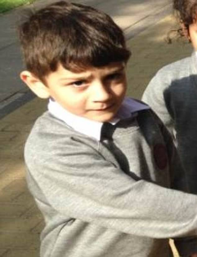 Headteacher Julie Wright said at the time: 'Hakeem was a most beautiful little boy, a great friend to many staff and children with a wicked sense of humour and an infectious giggle'