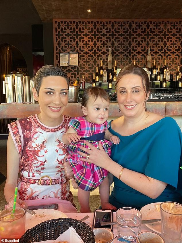 Since September 2019, the tumours have significantly reduced in size. The initial surface areas of the total number of tumours in all four regions of her body started at 213mm and of June 28, 2021 they were 67mm