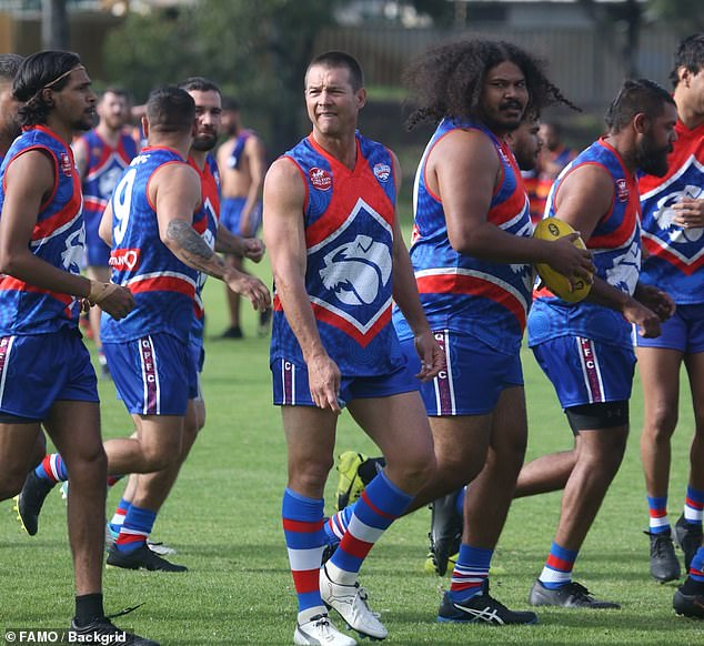 More than 90 per cent of the players at the club are Indigenous, and Queens Park president Ross White said at times it was difficult to garner community interest in the team