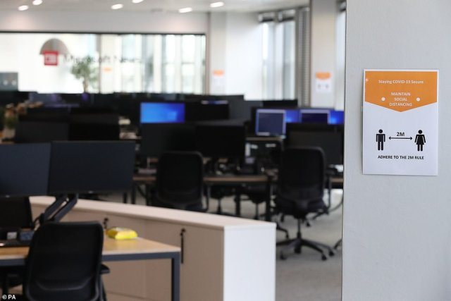 Documents released online just days before the July 19 unlocking also suggest workplaces keep social distancing measures like plastic screens and back-to-back desks in a bid to placate nervous workers