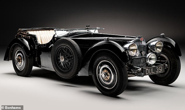 A one-of-42 vintage Bugatti that's been in hiding for 51 years topped the UK sales charts in the first half of 2021, achieving a fee of more than £4million