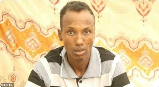 Hussein Adan Ali, 28, was found guilty in Dhobley, Jubaland, on Wednesday in a court session broadcast on regional TV