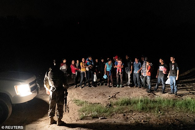 More than one million migrants have now been apprehended at the southern border this year fiscal year, new figures show