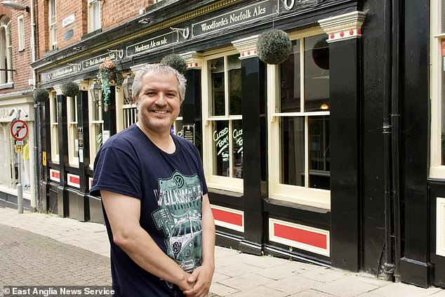 The landlord hopes it will safeguard drinkers and his 25 staff, particularly after the rules about masks and social distancing end from next Monday