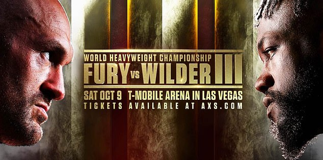The new date for the heavyweight showdown was confirmed by Fury and Top Rank today