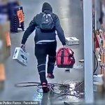 A bungling bandit caught on CTTV at Bunnings sparks comparison to Tom Cruise in Mission Impossible 💥👩💥