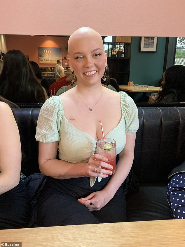 Emily told FEMAIL she never imagined cancer to be an isolating experience and wasn't aware of how the diagnosis would permanently impact her life