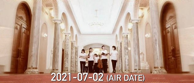 A music video released by the band shows the musicians inside the Paekhwawon Guesthouse