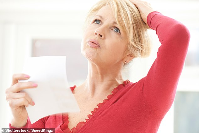 Women who switch to a vegan diet rich in soy during menopause could reduce the number of hot flushes they experience (as pictured) by up to 84 per cent without drugs (stock image)