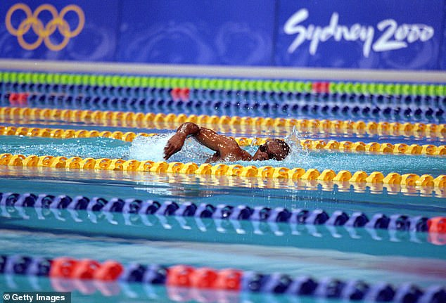 The then-22-year-old from Equatorial Guinea was competing in the 100m freestyle event