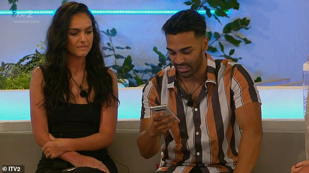 Race row: A spokesperson for Ofcom told MailOnline 'We received 272 complaints in total about last night's Love Island.'231 are Ollie being a contestant. 36 of these are about Nas being referred to as Aladdin'